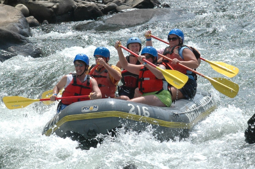 Water Rafting in the Philippines