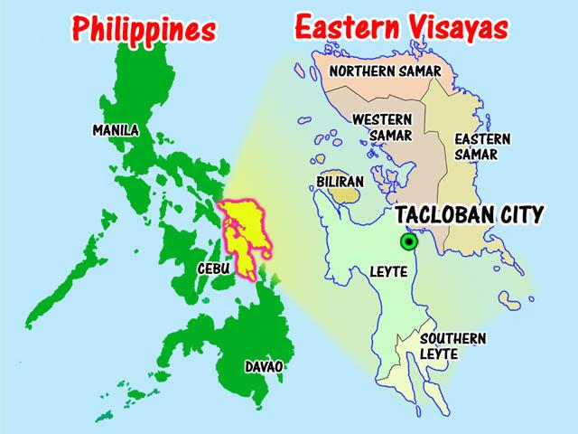region viii eastern visayas