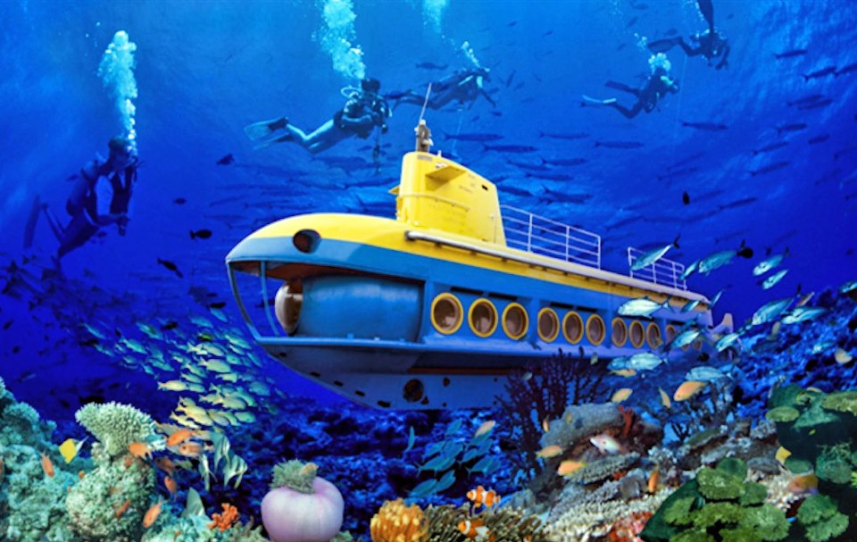 Philippines First Submarine Tours