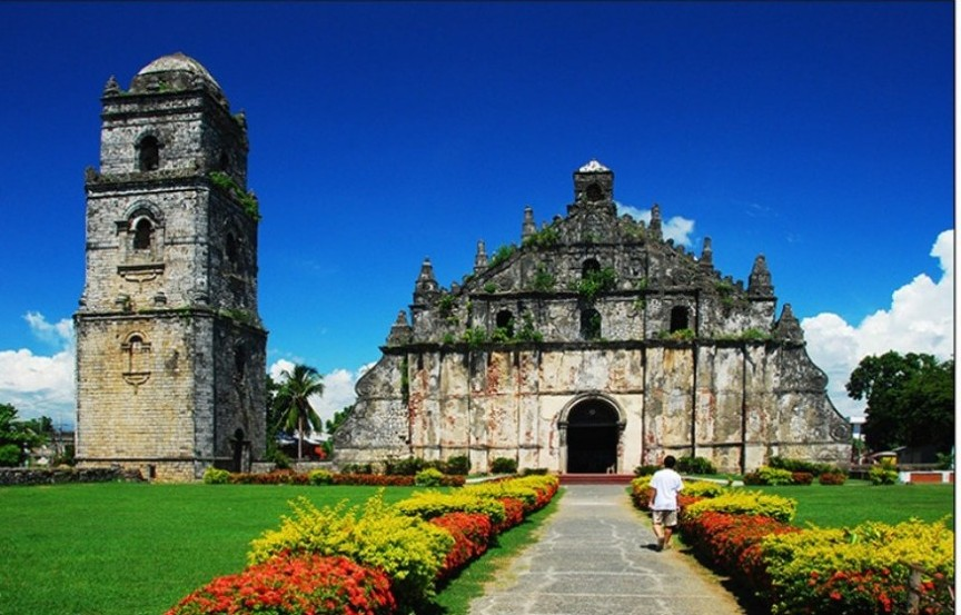 The City of Laoag in the Philippines