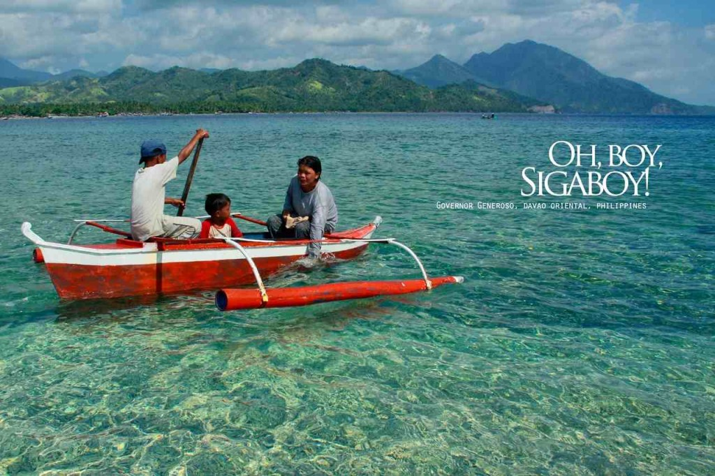 Governor Generoso and the Island of Sigaboy