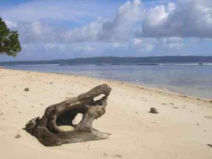 The white sand beaches on the island of Hagonoy are another great attraction in the area