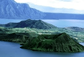 Taal Volcano-Philippines