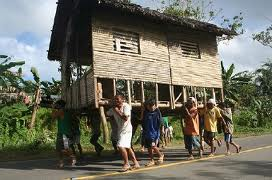 Nipa Hut Relocation