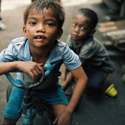 """""""Urban poverty can trap children in a downward spiral of poverty and squalor, leading to sickness, neglect and risk of exploitation,"""""""